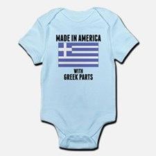 Made In America With Greek Parts Body Suit