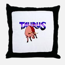 TAURUS THE BULL Throw Pillow