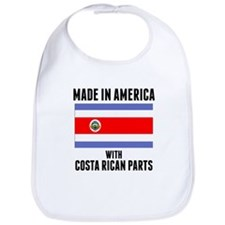 Made In America With Costa Rican Parts Bib