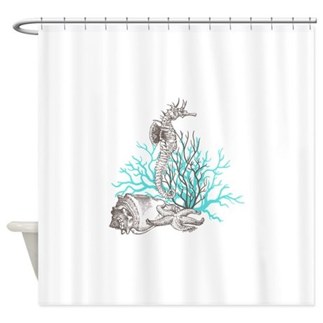 Aqua Under The Sea Shower Curtain By Admin CP2865584