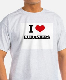 I love Eurasiers T-Shirt
