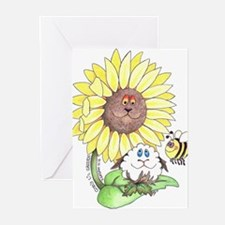 God's lil Garden Greeting Cards
