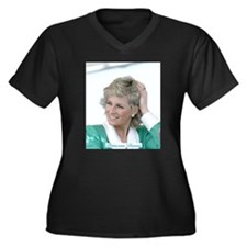 HRH Princess Diana Australia Plus Size T-Shirt