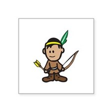 NATIVE AMERICAN BOY Sticker