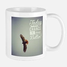 Hawk Today is the day Mugs