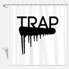 Trap Shower Curtain