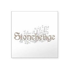 "Stonehenge Square Sticker 3"" x 3"""