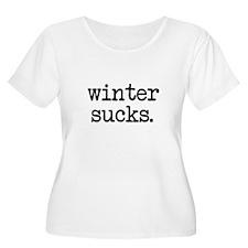 Winter Sucks Plus Size T-Shirt