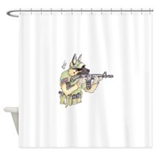 American Sheepdog Shower Curtain