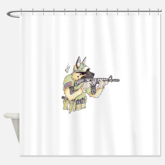 American Sheepdog Shower Curtain