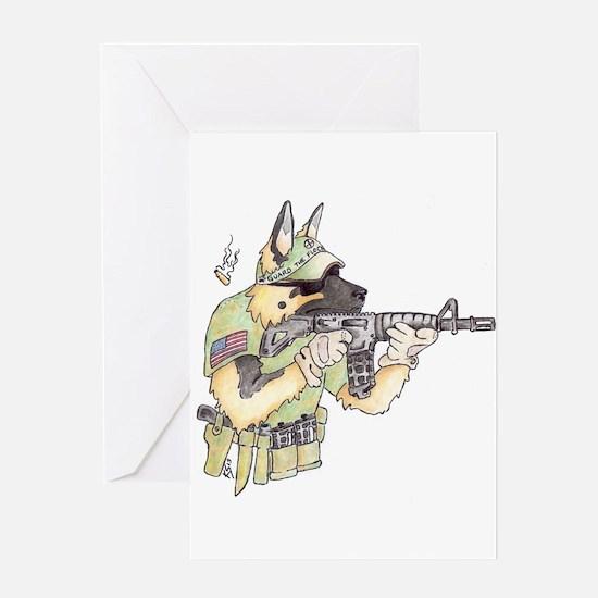 American Sheepdog Greeting Cards