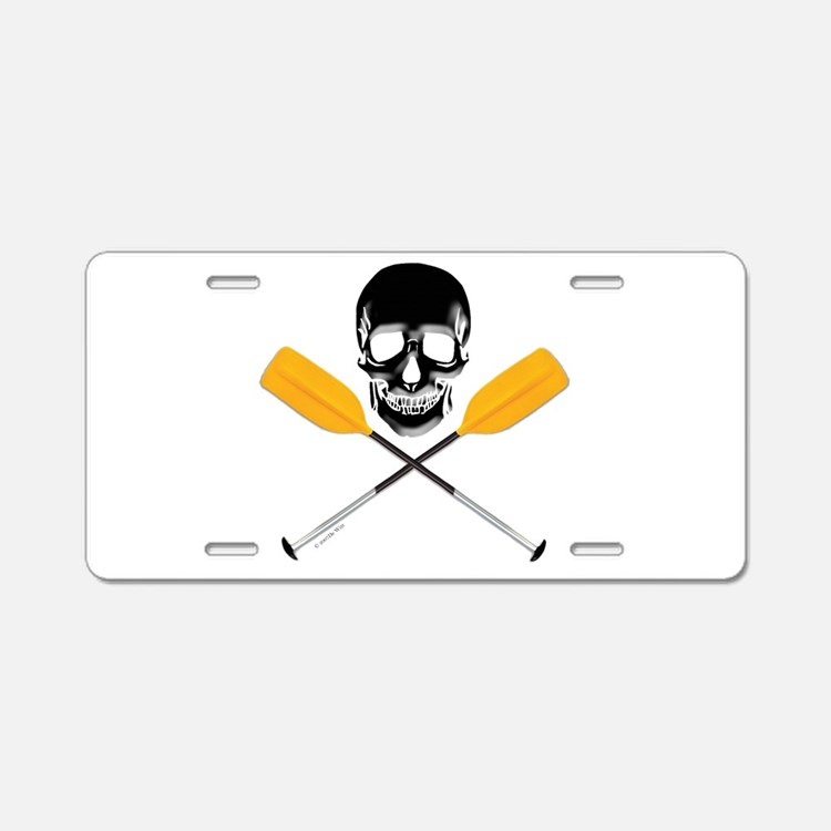 Paddle or Die.png Aluminum License Plate