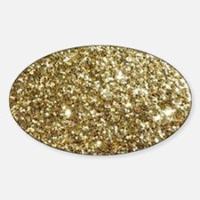 Realistic Gold Sparkle Glit Decal