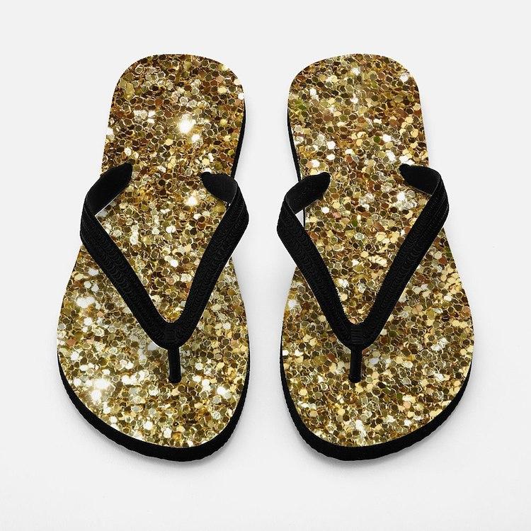 glitter flip flops glitter flip flops sandals cafepress. Black Bedroom Furniture Sets. Home Design Ideas