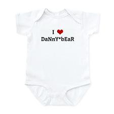 I Love DaNnY*bEaR Infant Bodysuit