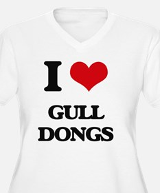 I love Gull Dongs Plus Size T-Shirt