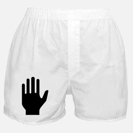 Hand Boxer Shorts