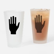Hand Drinking Glass