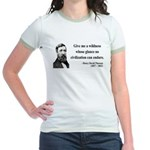 Henry David Thoreau 4 Jr. Ringer T-Shirt