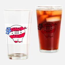 Infidel Threeper Hog Drinking Glass