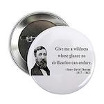 "Henry David Thoreau 4 2.25"" Button (10 pack)"