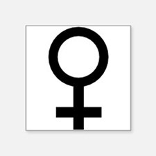 Female Symbol Sticker