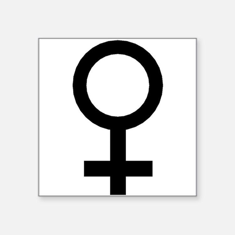 Female Symbol Sticker