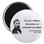 "Henry David Thoreau 4 2.25"" Magnet (100 pack)"