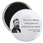 "Henry David Thoreau 4 2.25"" Magnet (10 pack)"