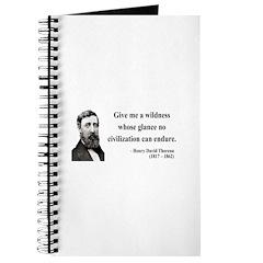 Henry David Thoreau 4 Journal
