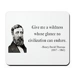 Henry David Thoreau 4 Mousepad