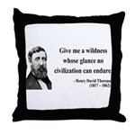 Henry David Thoreau 4 Throw Pillow