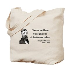 Henry David Thoreau 4 Tote Bag