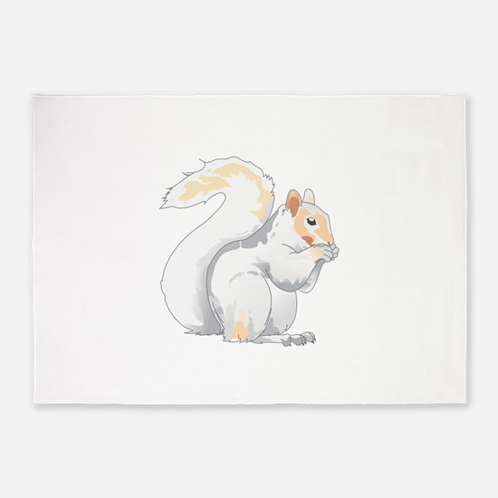 SQUIRREL 5'x7'Area Rug