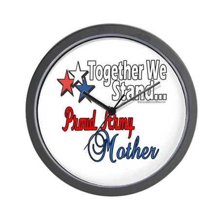 Proud Army Mommy Wall Clock