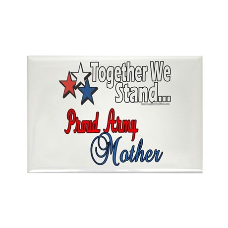 Proud Army Mommy Rectangle Magnet (100 pack)