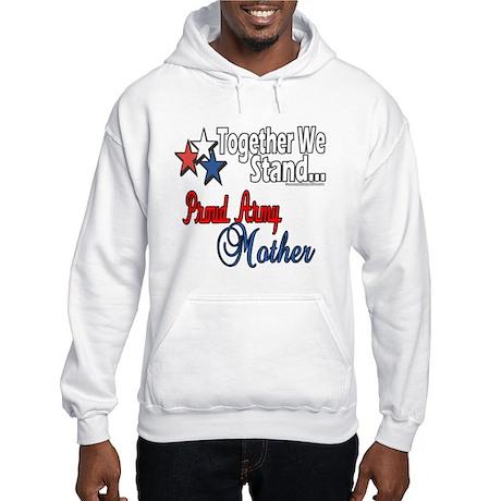 Proud Army Mommy Hooded Sweatshirt