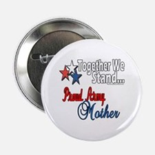 Proud Army Mommy Button