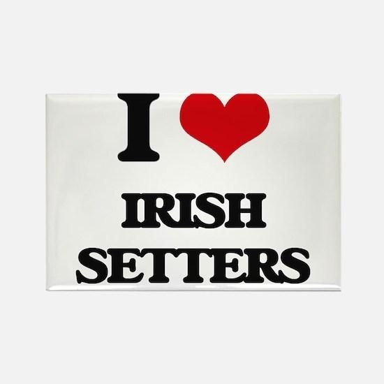 I love Irish Setters Magnets