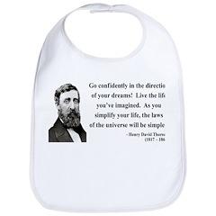 Henry David Thoreau 5 Bib
