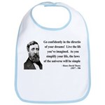 Henry David Thoreau 5 Bib