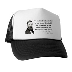 Henry David Thoreau 5 Trucker Hat