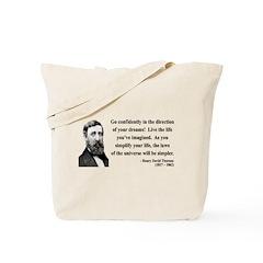 Henry David Thoreau 5 Tote Bag