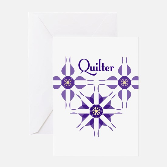 Quilted Violet Greeting Cards