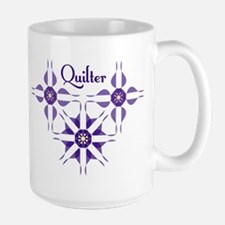 Quilted Violet Mugs