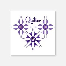Quilted Violet Sticker