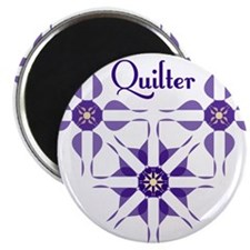 Quilted Violet Magnets