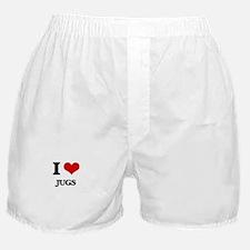 I love Jugs Boxer Shorts