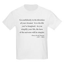Henry David Thoreau 5 T-Shirt