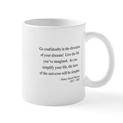 Henry David Thoreau 5 Mug